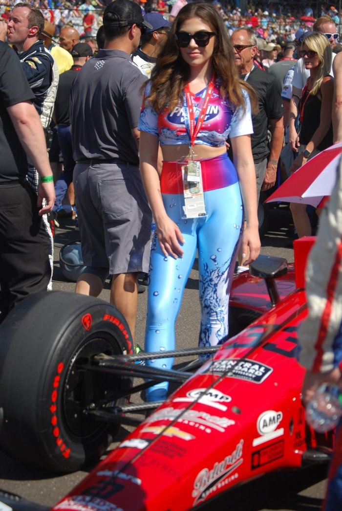 Yes that's a promotional model with James Davisson's car ON THE GRID. The Track, she was not pleased.