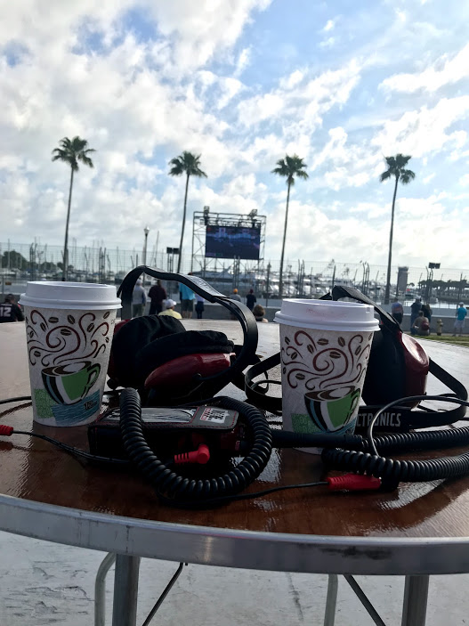 Headsets at St Pete