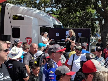 INDYCAR Autograph Session 2 St Pete 2019