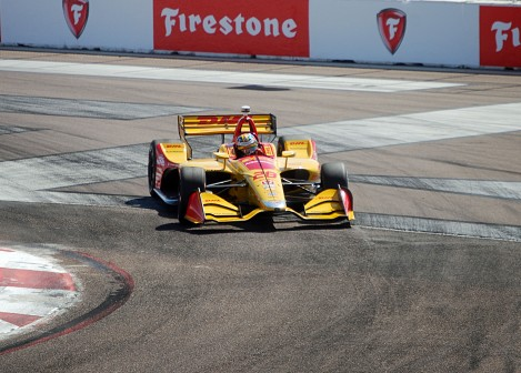 Ryan Hunter-Reay INDYCAR St Petersburg