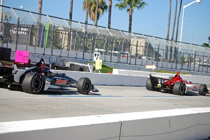 Acura Grand Prix Long Beach Quals 2