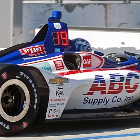 Kanaan Acura Grand Prix Long Beach quals2