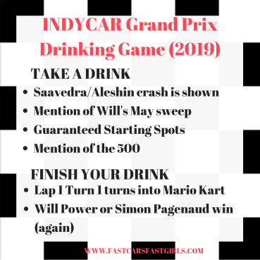 INDYCAR GP 2019 Drink