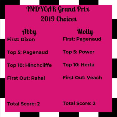 INDYCAR GP Choice 2019